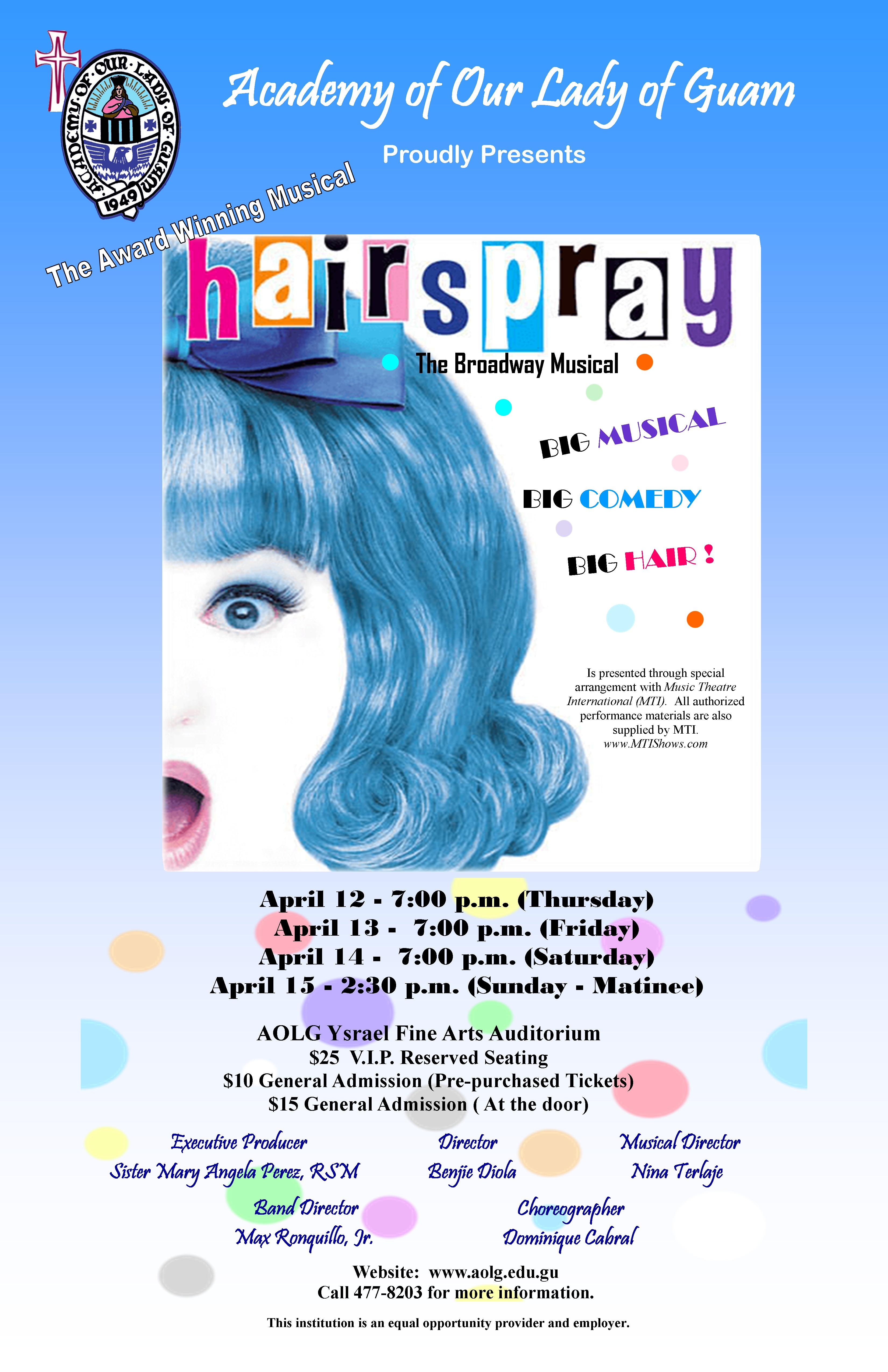 Hairspray2018.aolg.poster banner