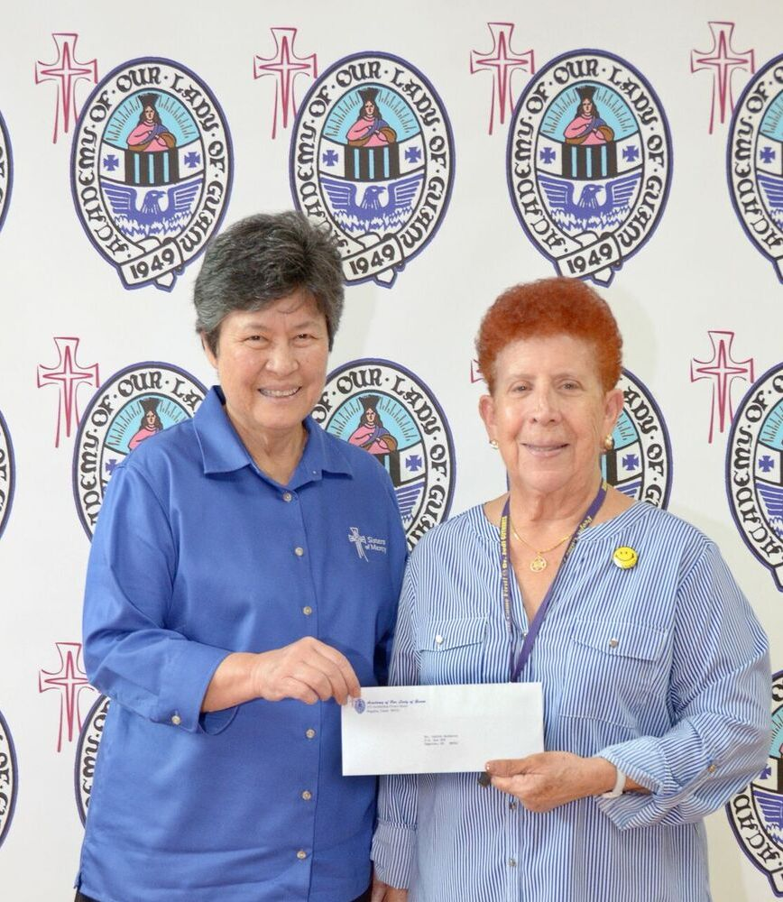 Judi Guthertz donation Sept 2018