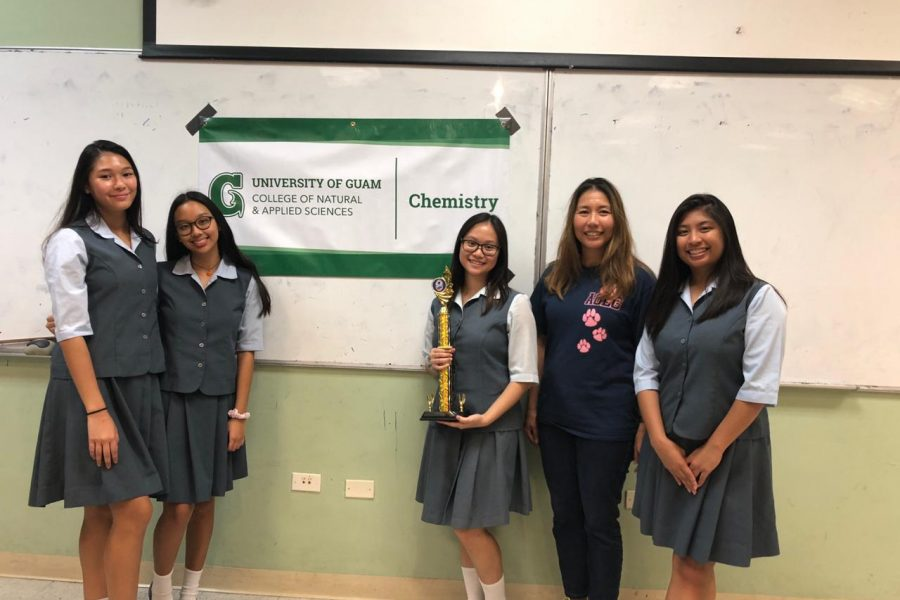 AOLG students join High School Chemistry Titration Competition